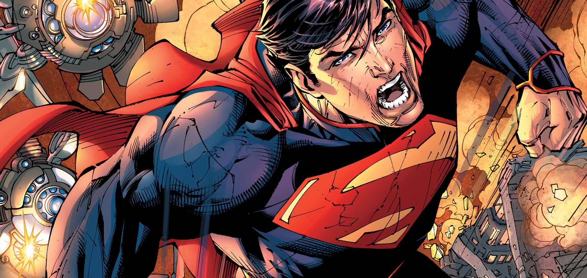 Jim Lee New 52 Superman 1927399 Hd Wallpaper Backgrounds
