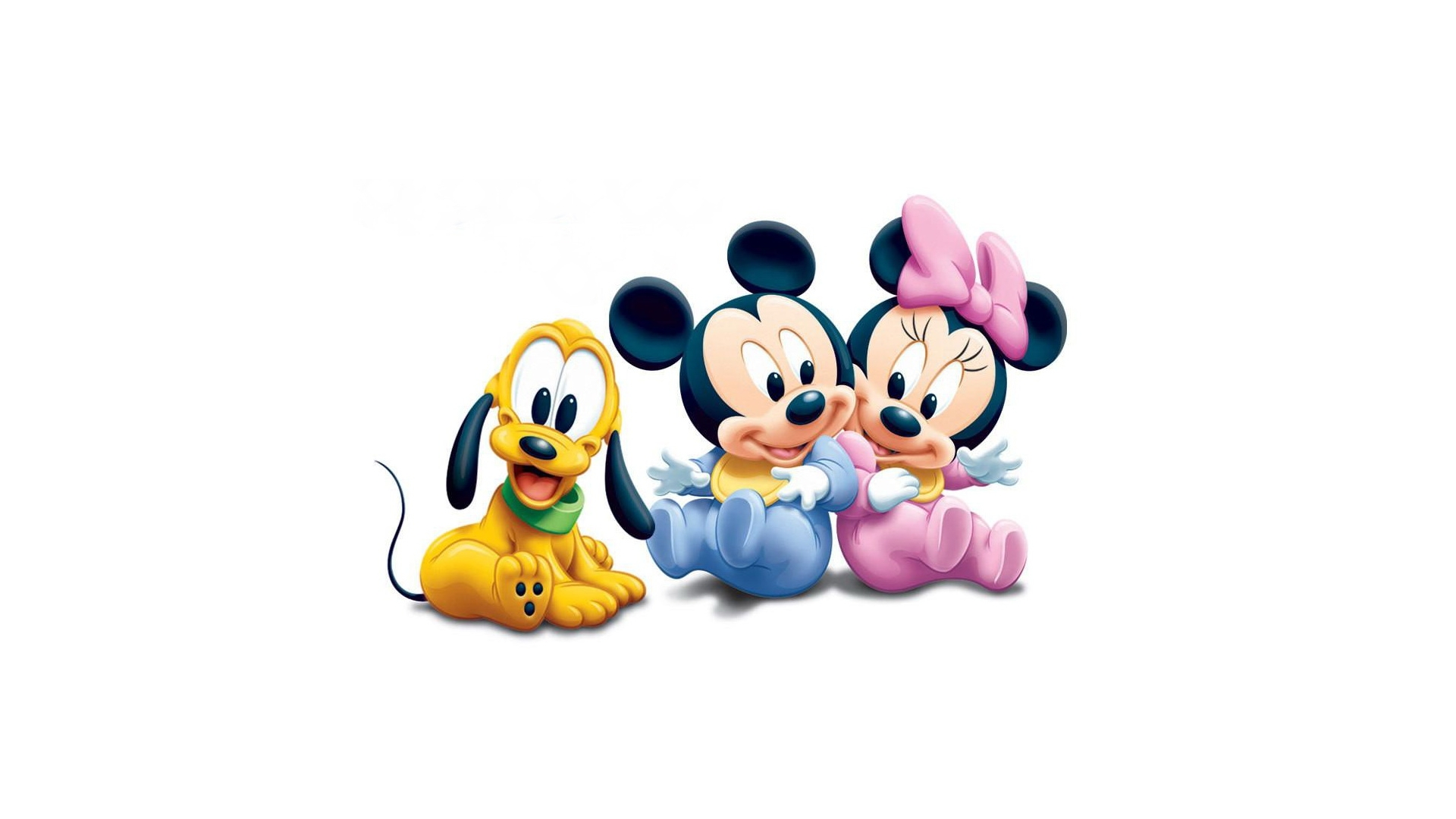 Disney Cartoon Baby Mickey And Minnie Mouse Wallpaper Cute