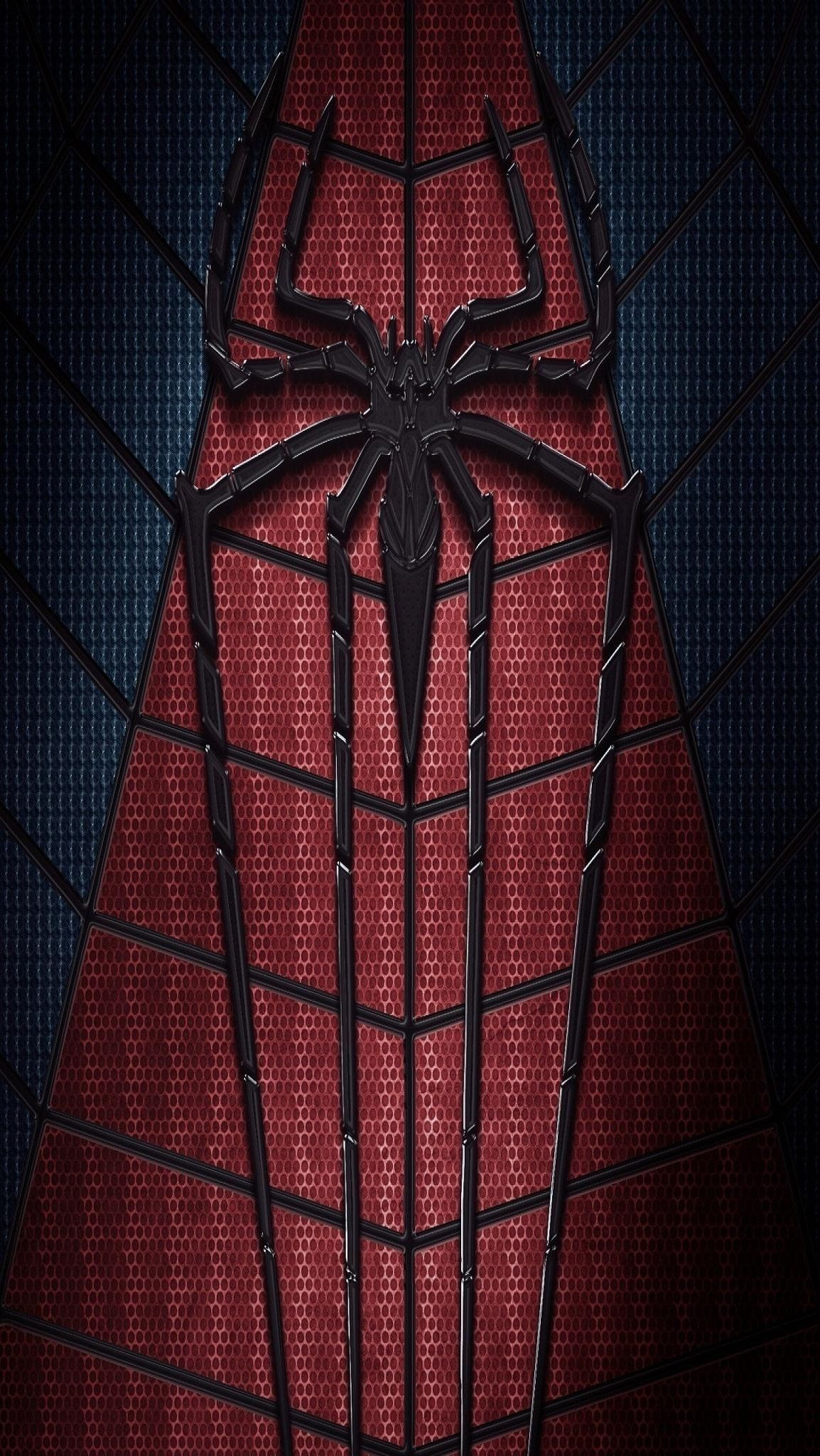 Iphone Wallpapers Обои - Spiderman Logo Wallpaper 4k , HD Wallpaper & Backgrounds