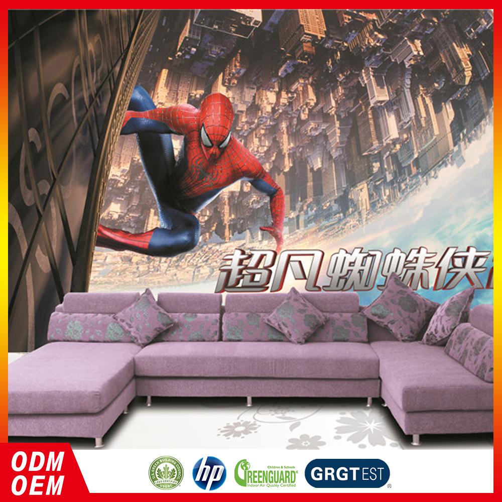 3d Keren Spider Man Anak Anak Kustom Wallpaper Untuk - Sony Laser Projector Mp Cl1 , HD Wallpaper & Backgrounds