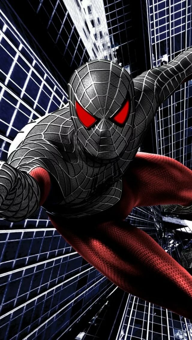 1920x1175px Black Suit Spiderman Wallpaper Spiderman In