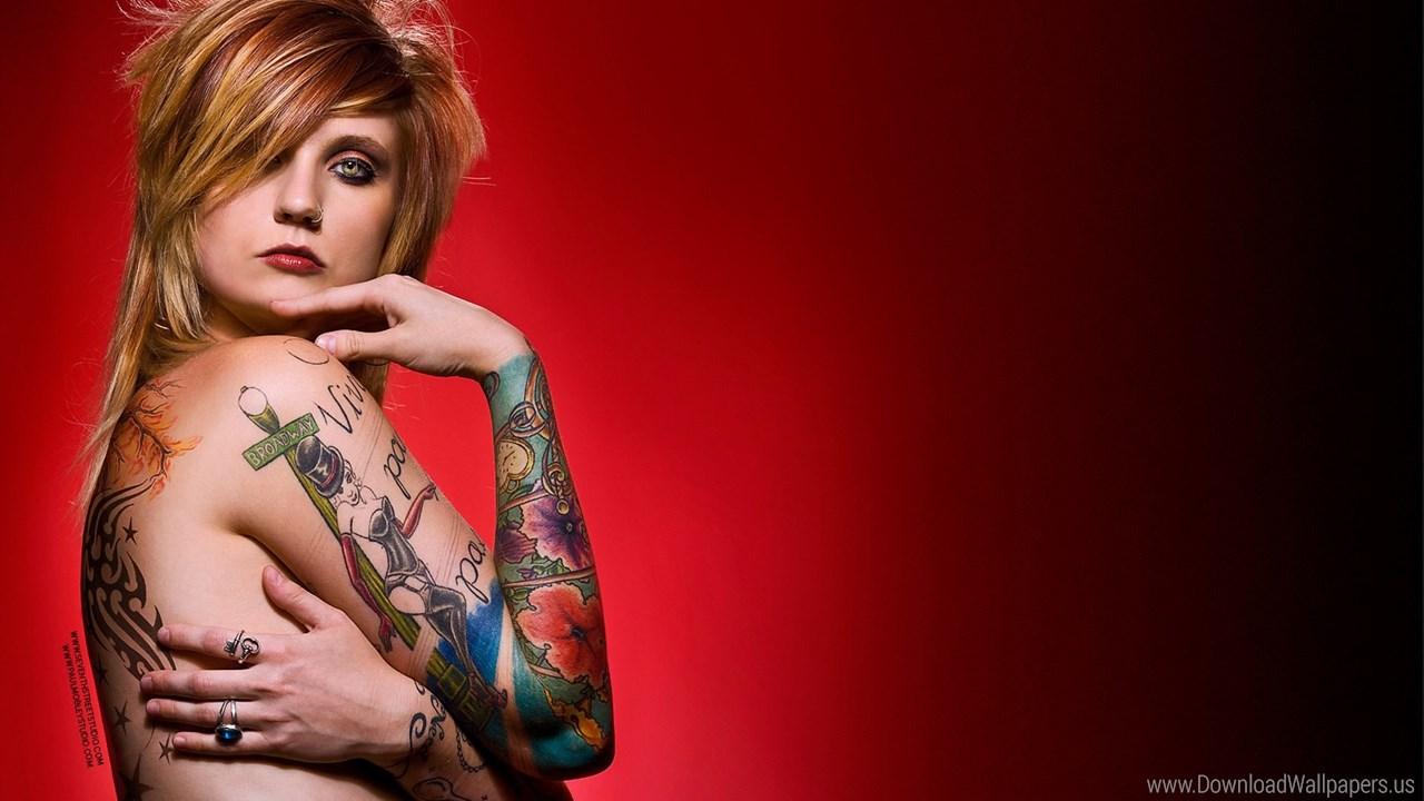 Download Widescreen - Tattoo , HD Wallpaper & Backgrounds