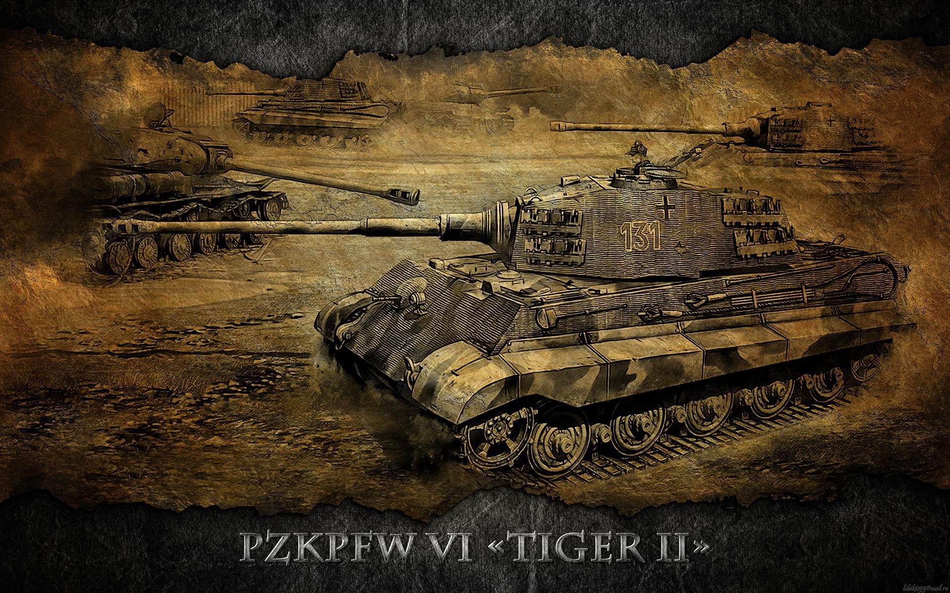 World Of Tanks Tanks Pzkpfw Vib Tiger Ii Games Wallpaper King