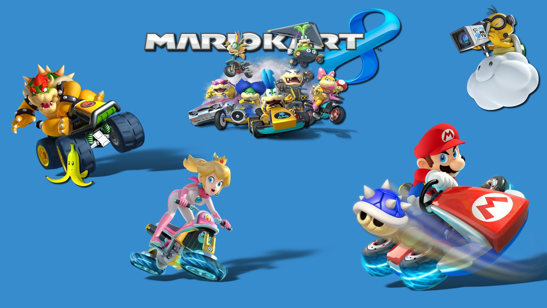 Mario Kart 8 Video Games Toad Character Mario Bros Mario