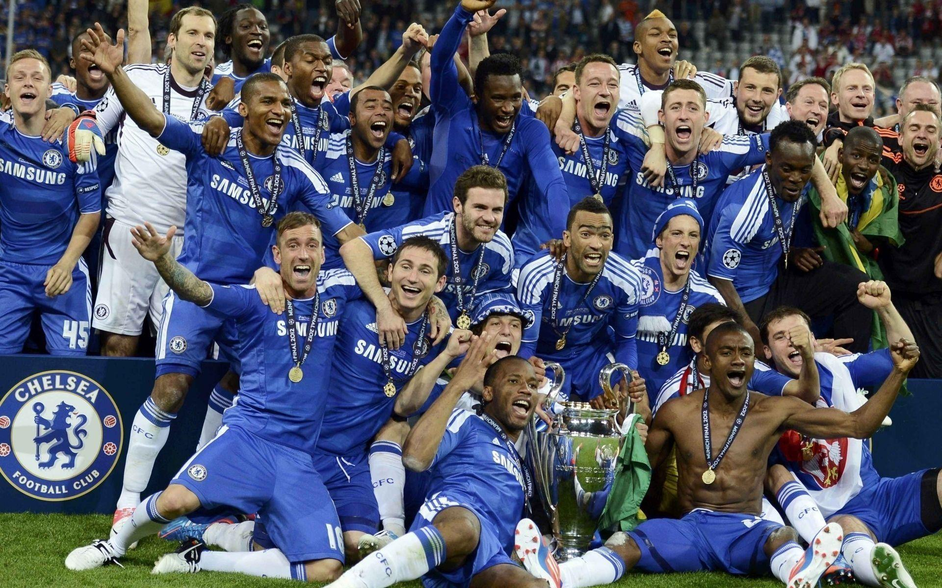 Download Wallpaper Chelsea Champions League 2012 Hd
