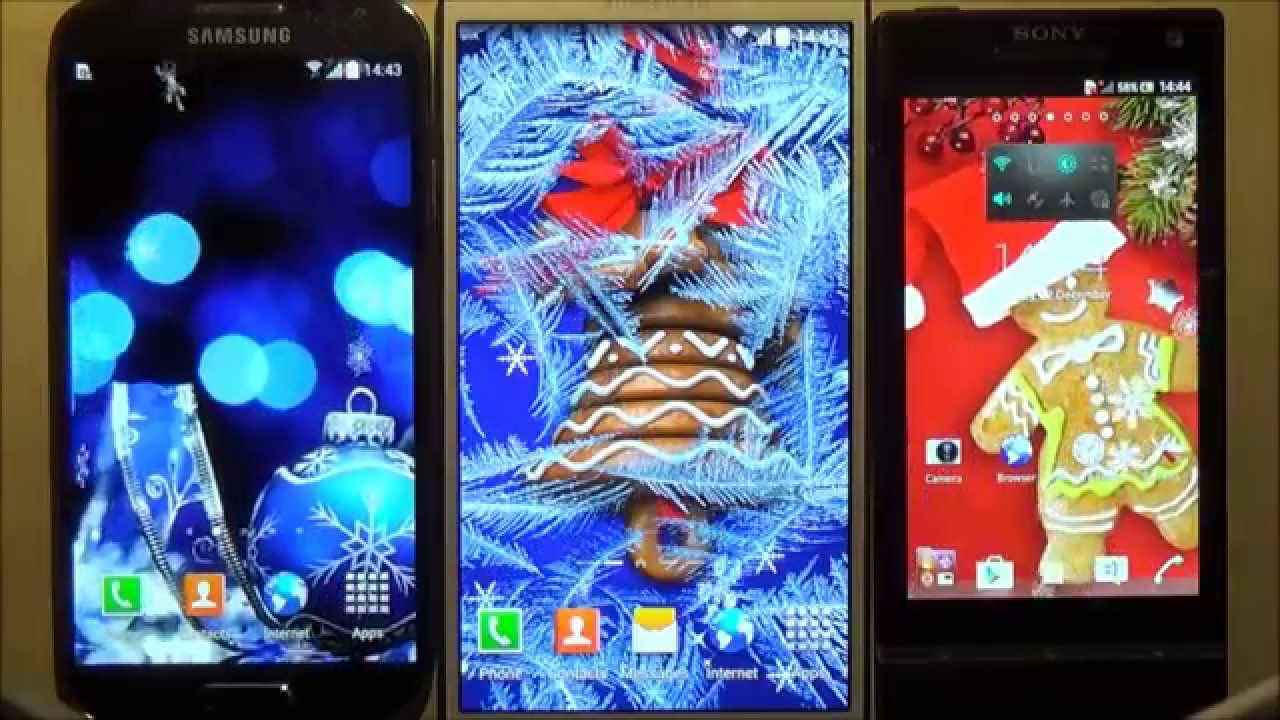 Free Christmas Hd Live Wallpaper For Android Phones