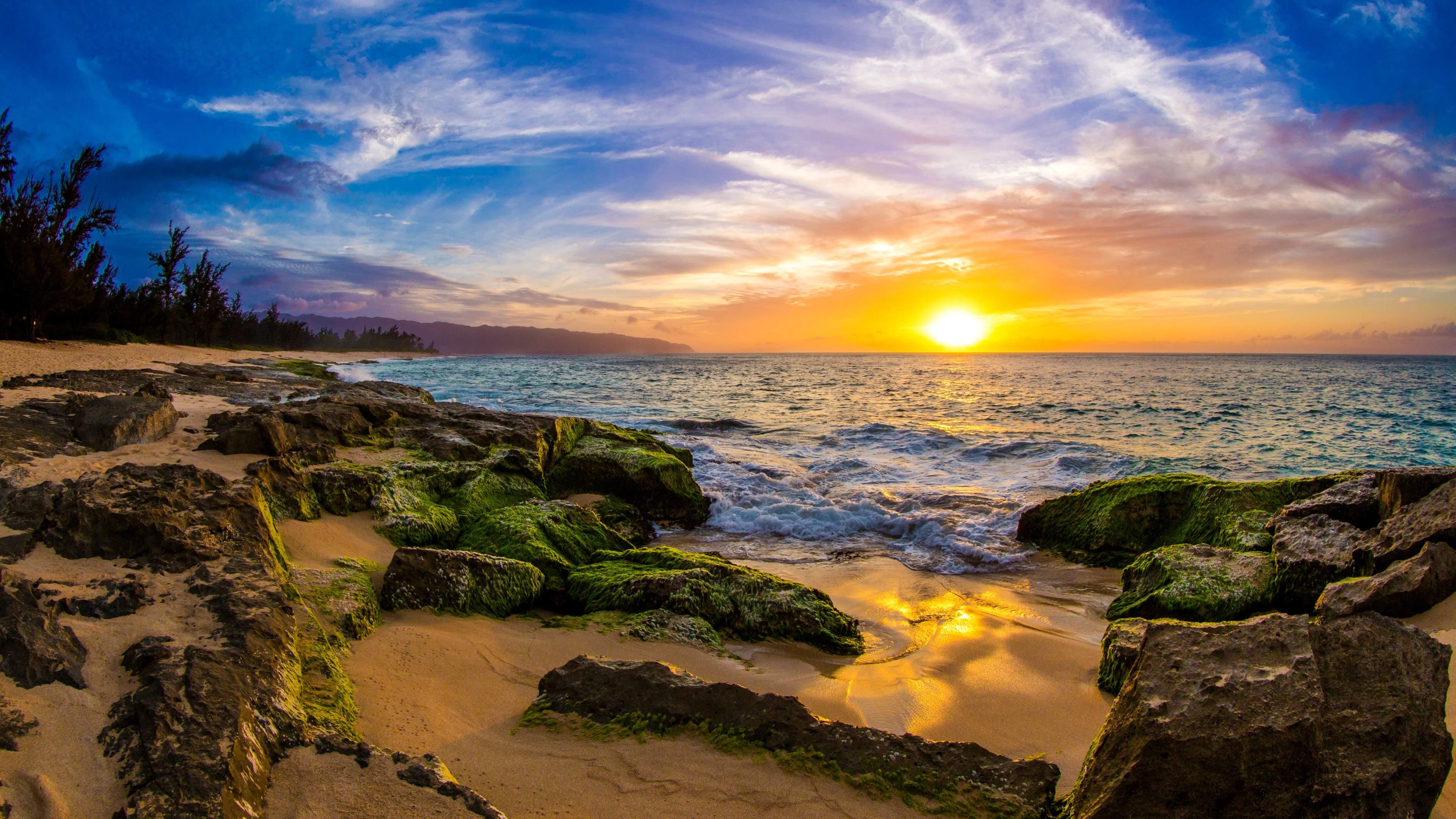194 1942970 ocean sunset sea 4k wallpaper ocean sunset 4k