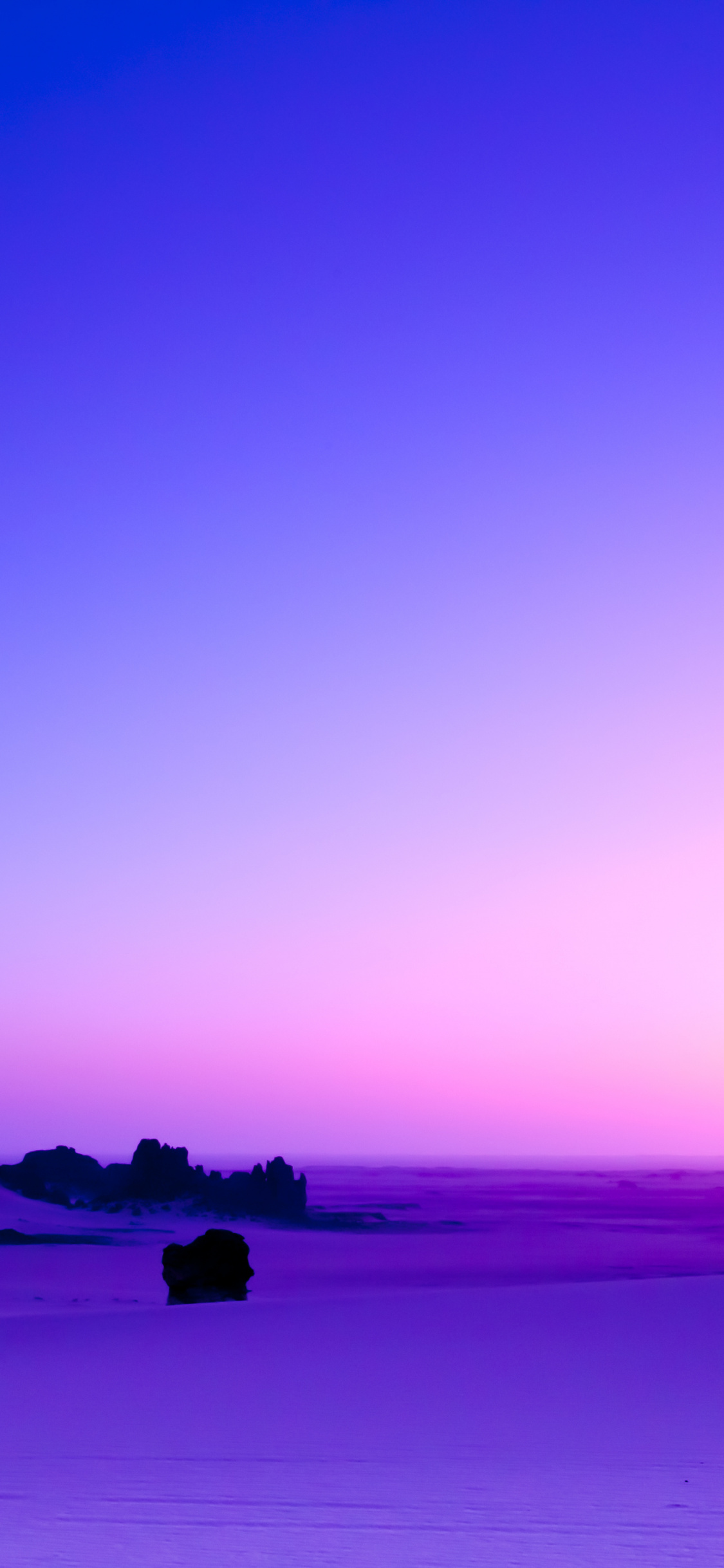 Purple Sunset Skyline Desert Landscape Wallpaper Sea 1944049 Hd Wallpaper Backgrounds Download