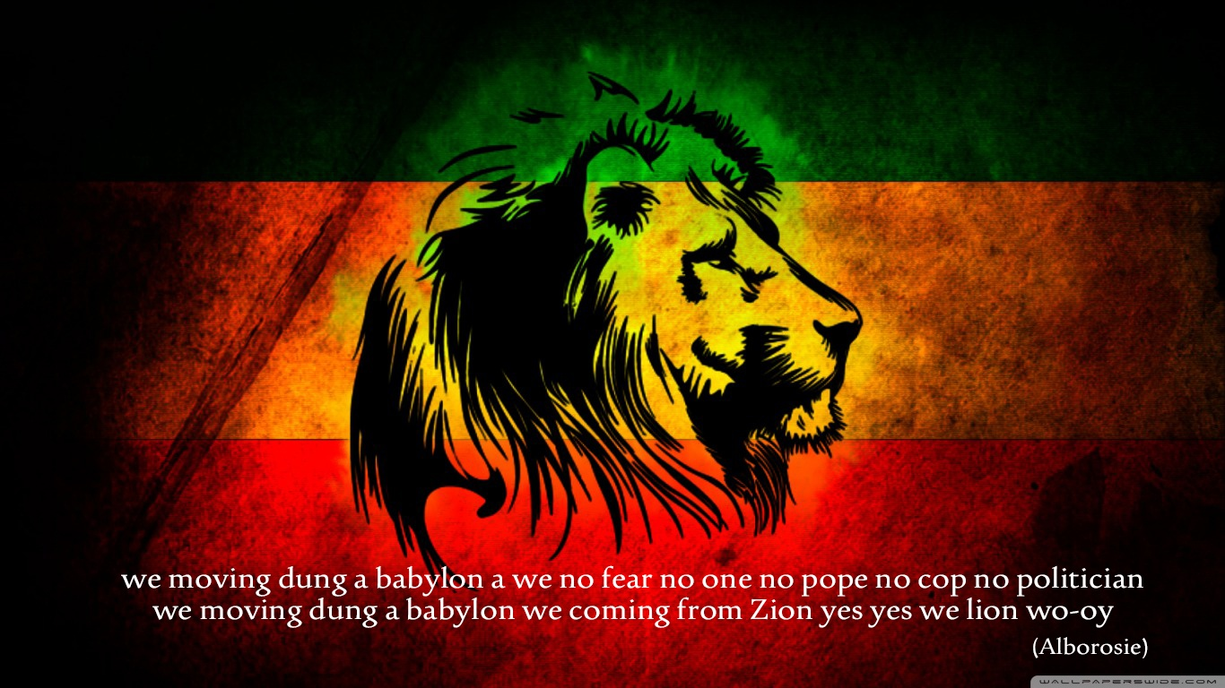 Related Wallpapers - Rasta Lion , HD Wallpaper & Backgrounds
