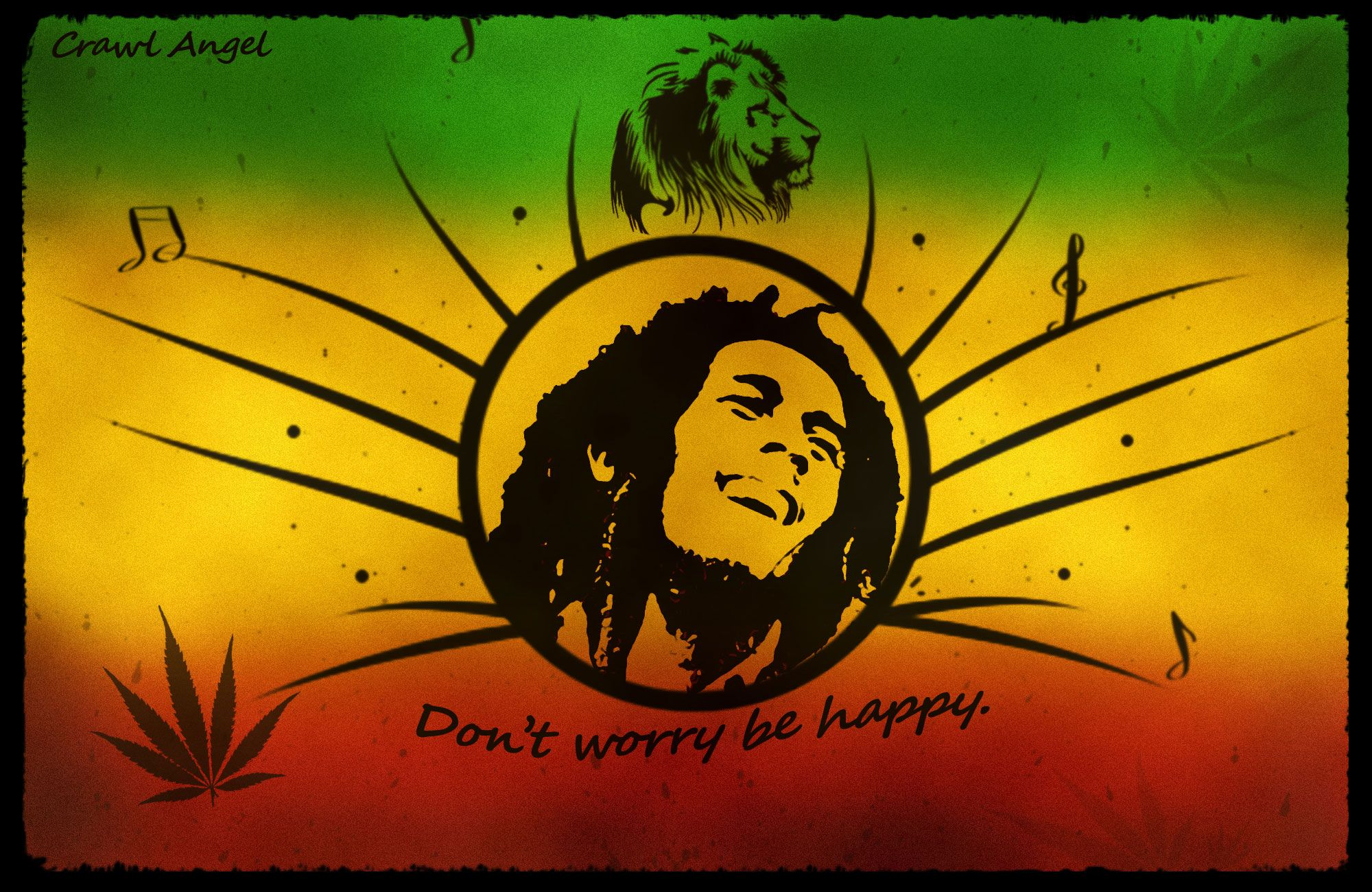 Bob Marley Wallpaper Download Don T Worry Be Happy Jamaica