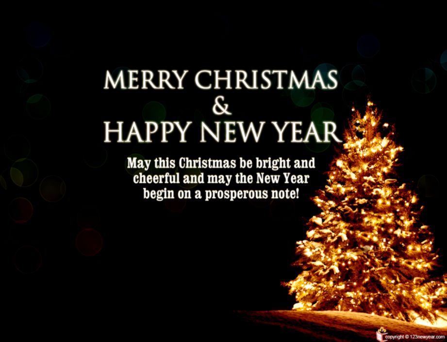 Merry Christmas And Happy New Year 2019 Images Wishes - Wishes Merry Christmas 2018 , HD Wallpaper & Backgrounds