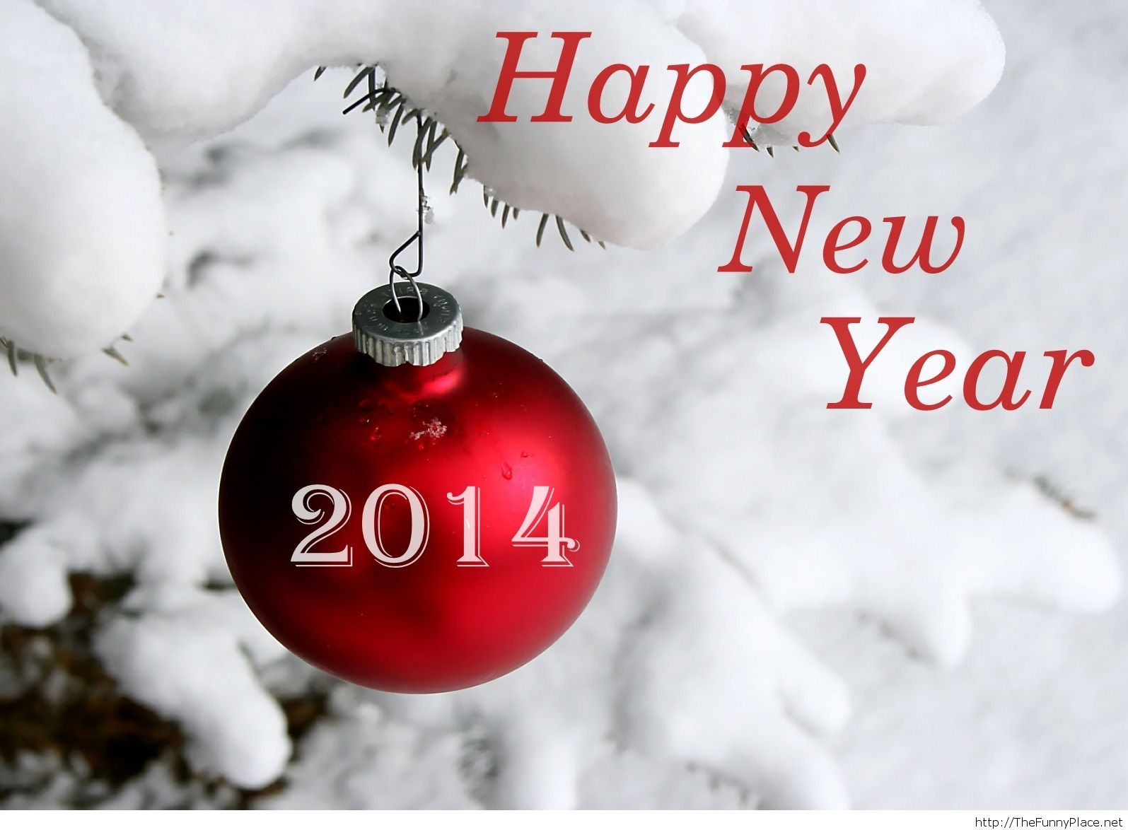 Happy New Year 2014 Wallpaper And Background - New Year Greeting Card Animated , HD Wallpaper & Backgrounds