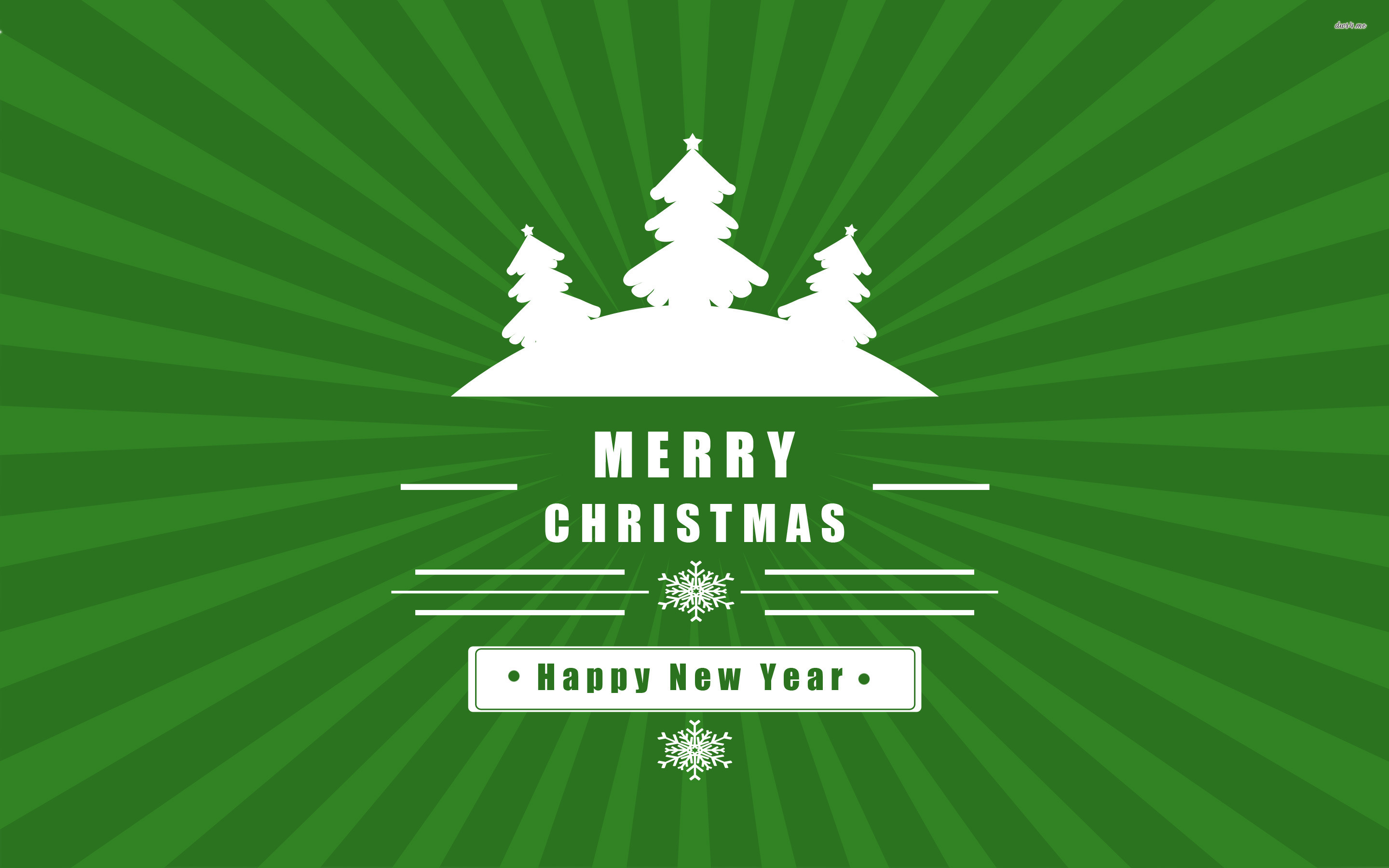 Merry Christmas And Happy New Year Wallpaper - Illustration , HD Wallpaper & Backgrounds