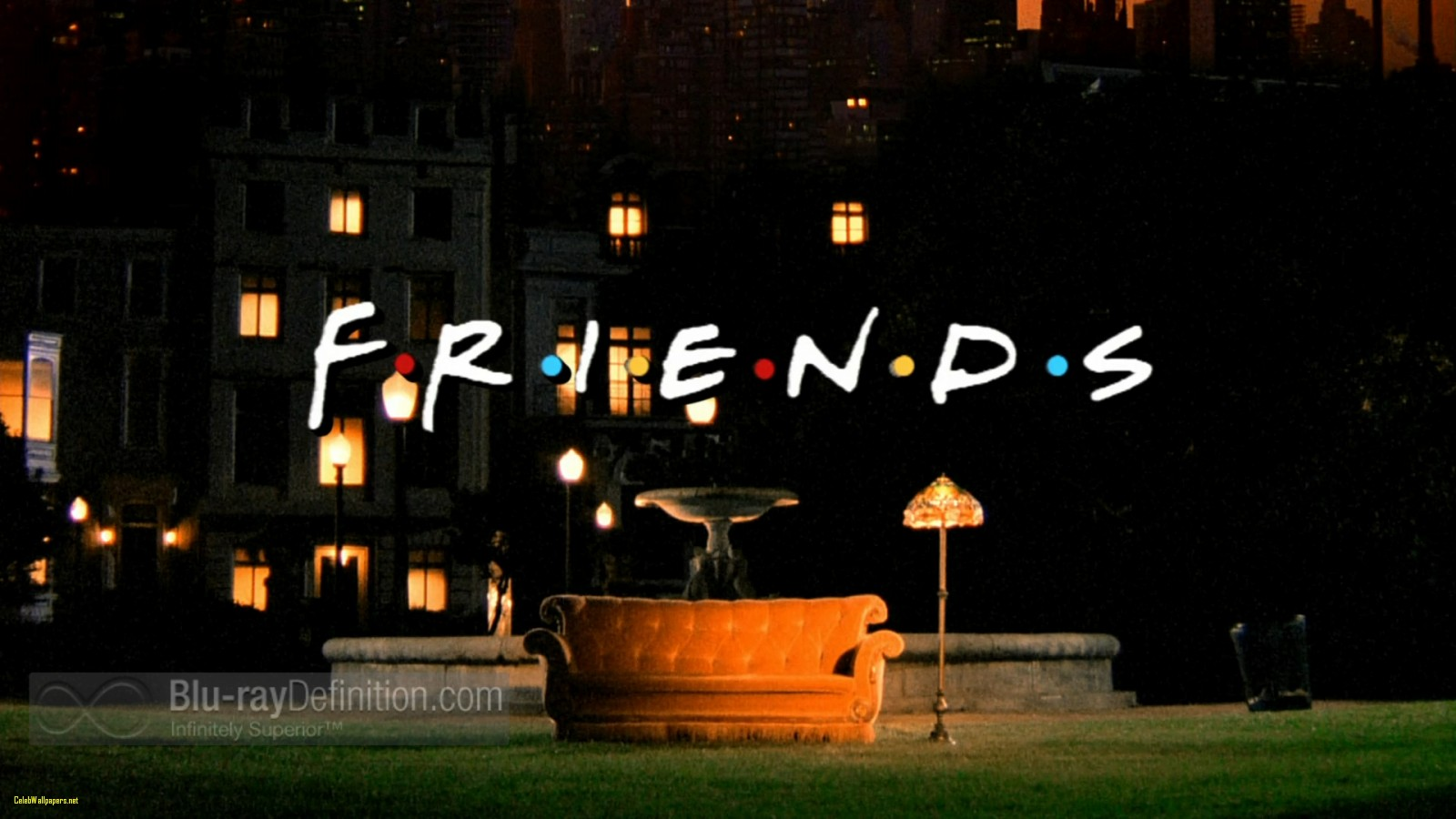 Friends Series Wallpaper - Friends Title , HD Wallpaper & Backgrounds