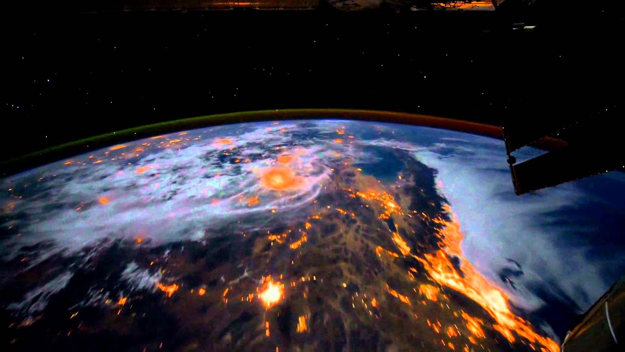 [dreamscene] Animated Wallpaper - Iss Earth , HD Wallpaper & Backgrounds