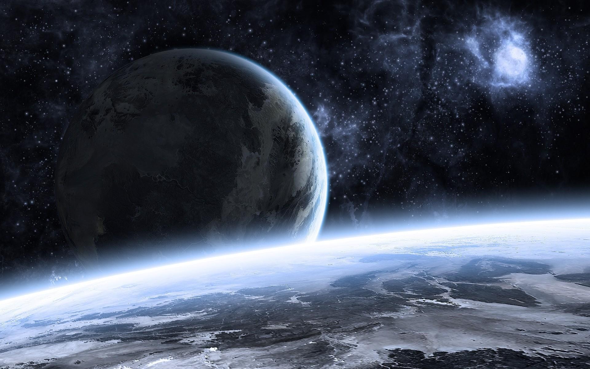 Aerospace Full Hd Cool Earth Wallpaper Space Wallpaper - Beautiful Space Landscape , HD Wallpaper & Backgrounds