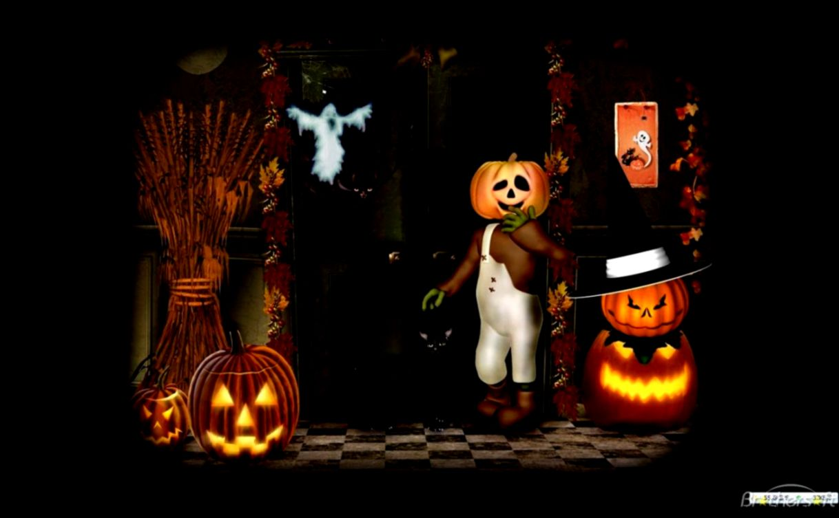 Free Halloween Wallpapers Screensavers Wallpaper2you