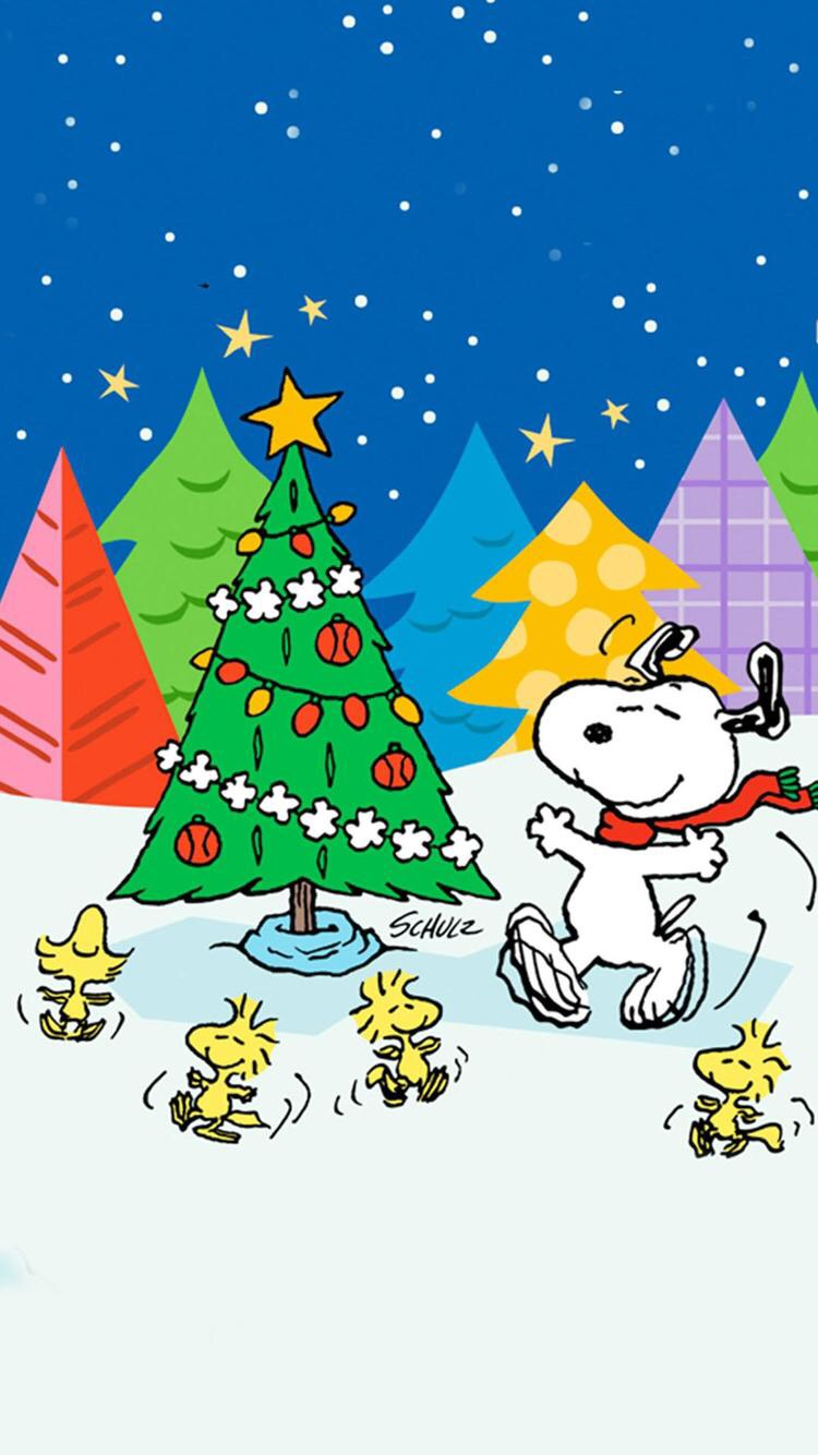 Cartoon Christmas Holidays Merry Christmas Snoopy Gif 1958124