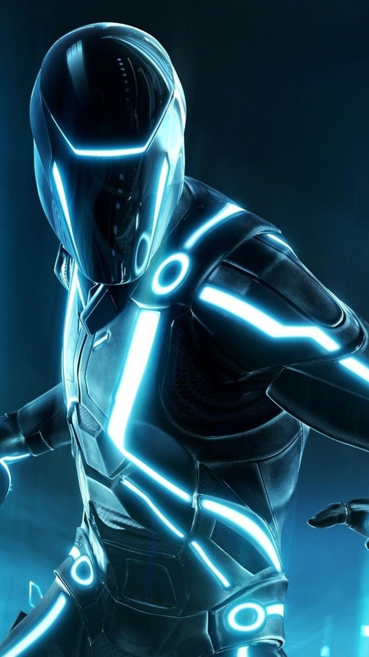 Tron - Tron Wallpaper Iphone , HD Wallpaper & Backgrounds
