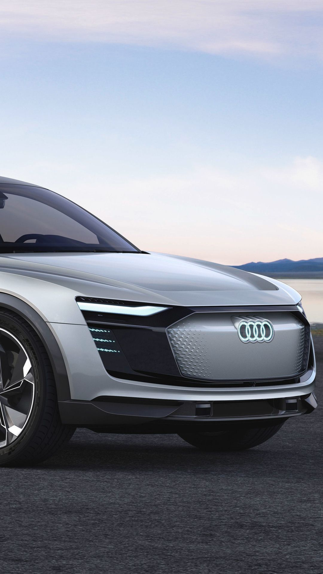 Tag For Audi 2017 4k Wallpaper E Tron Iphone 7 Audi - Concept Audi E Tron Sportback , HD Wallpaper & Backgrounds