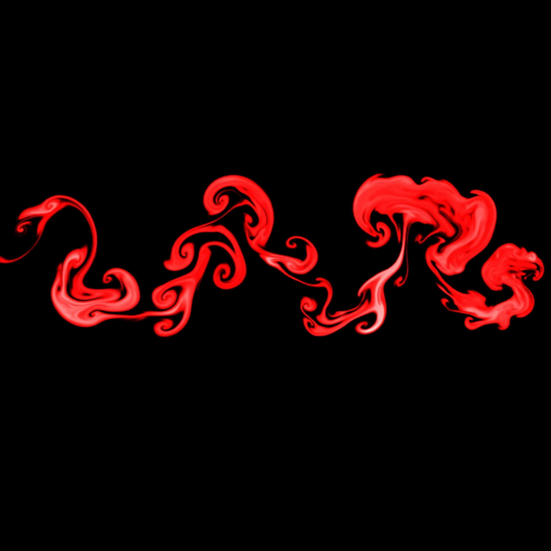 Red Fire Wallpaper Free Picture - Darkness , HD Wallpaper & Backgrounds