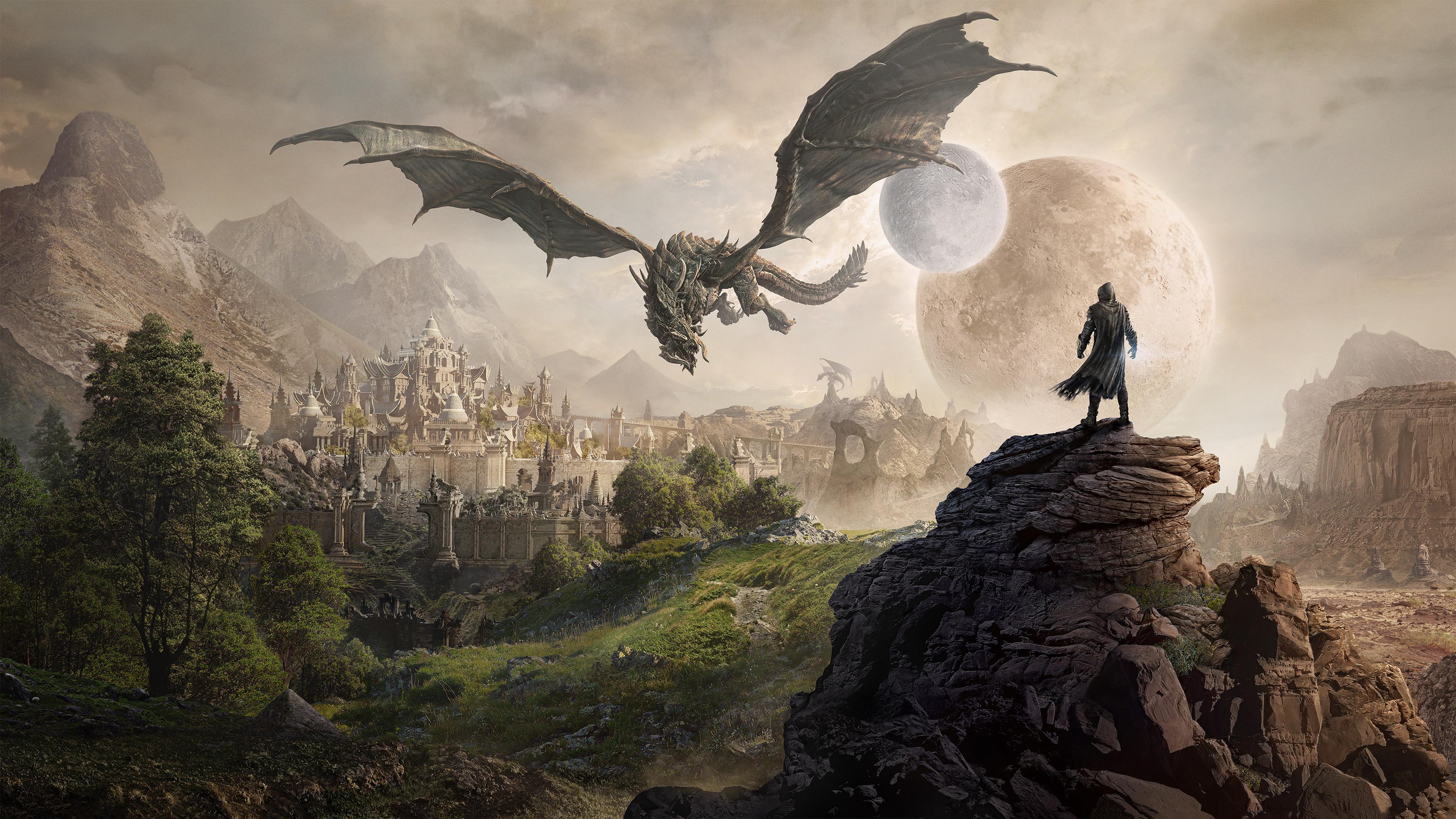 Elsweyr The Elder Scrolls Online 4k Wallpapers Elder Scrolls