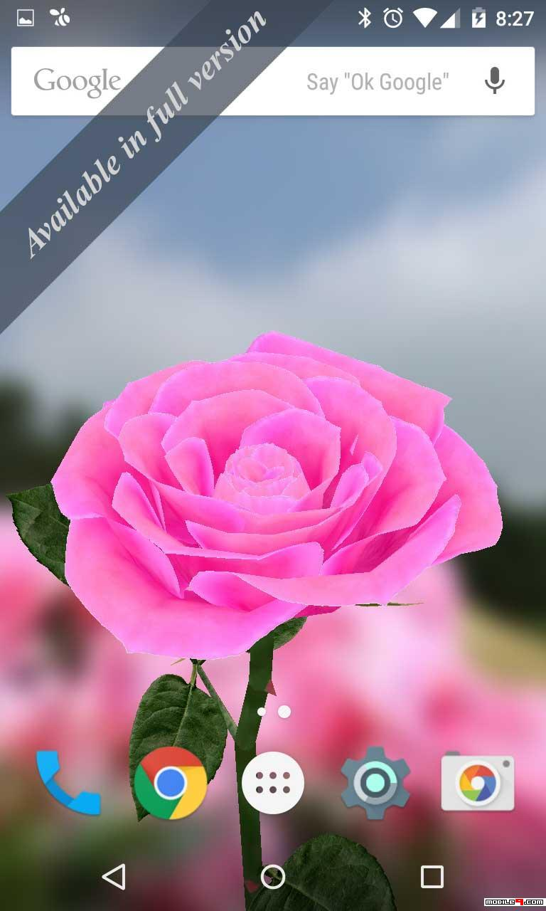 196 1968640 3d rose live wallpaper android live wallpapers rose