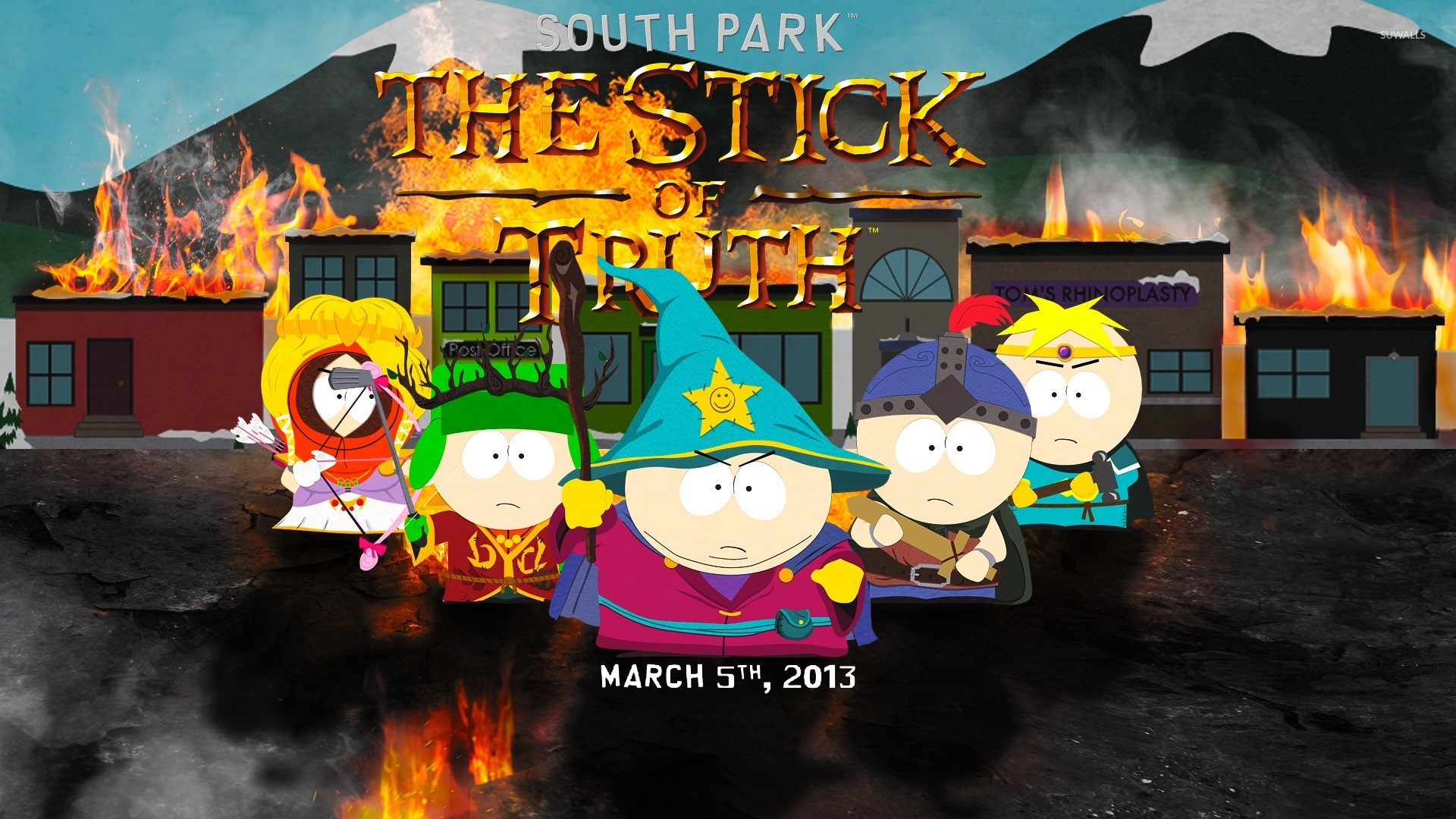 South Park South Park The Stick Of Truth Background 1969070