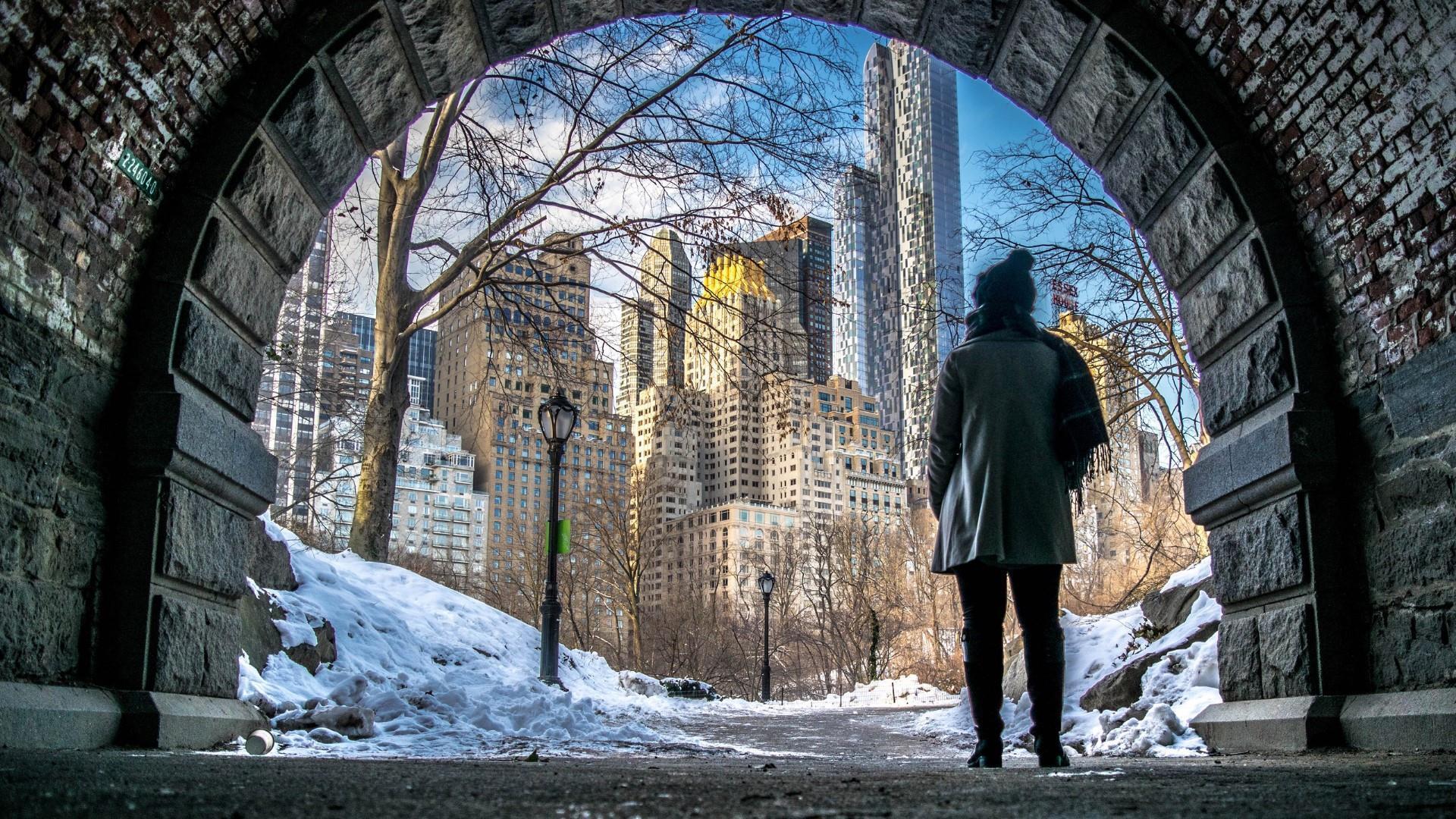New York Winter Central Park 1970240 Hd Wallpaper