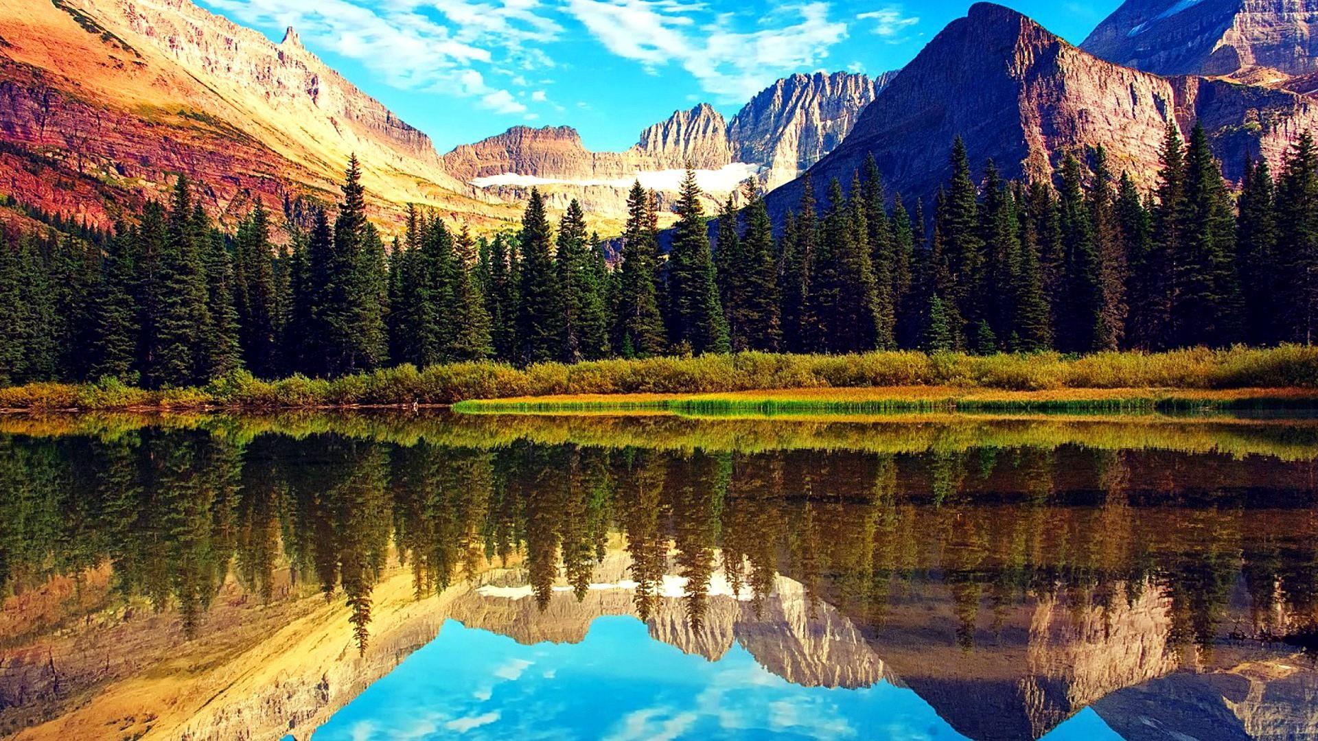 Download Glacier National Park Hd 1970653 Hd Wallpaper