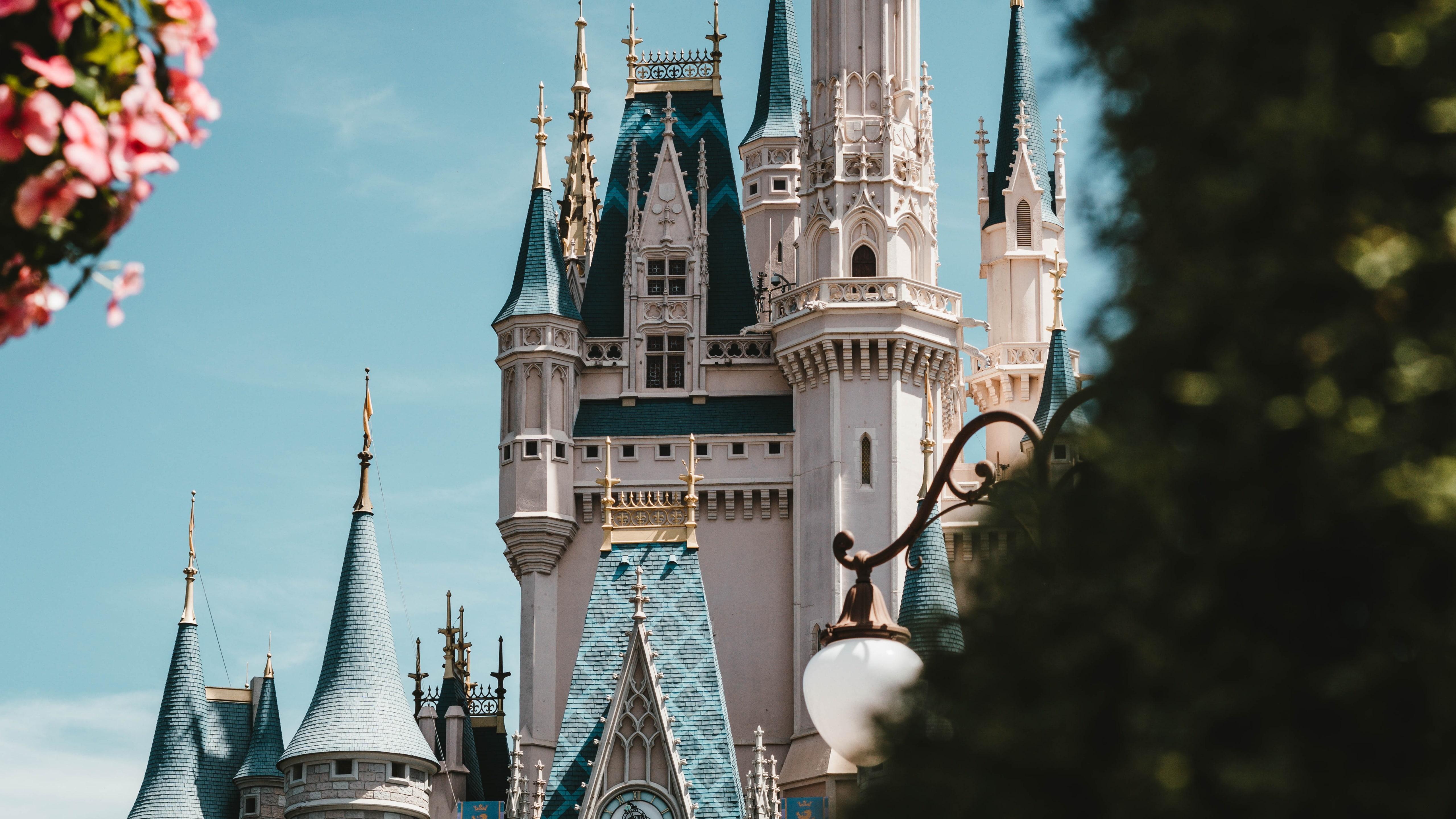 Theme Park Recreation Architecture America United Walt