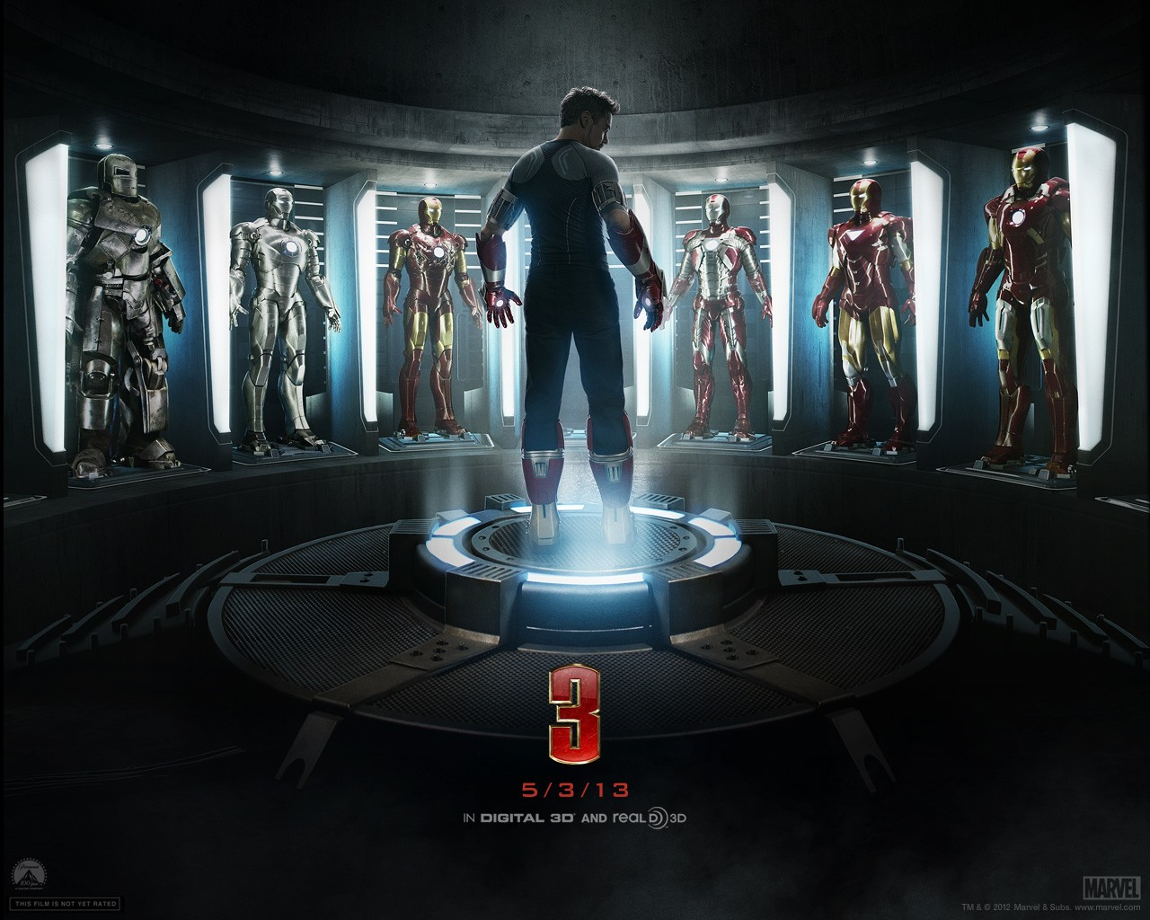 Iron Man 3 2013 Iron Man Wallpaper For Windows 8