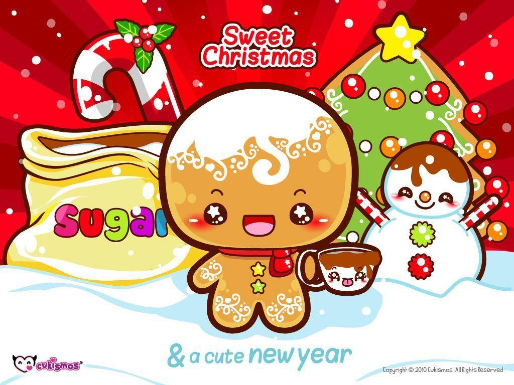 197 1972729 gingerbread man christmas wallpaper cute christmas backgrounds