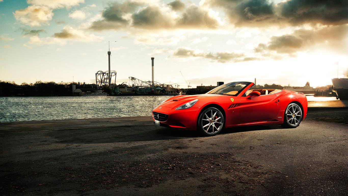 Car Ferrari Hd Wallpapers 1080p , HD Wallpaper & Backgrounds