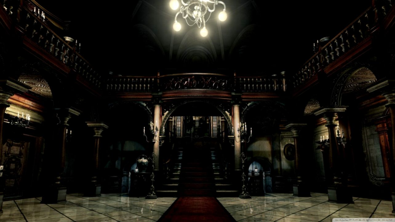 Resident Evil ❤ 4k Hd Desktop Wallpaper For 4k Ultra - Resident Evil Mansion , HD Wallpaper & Backgrounds