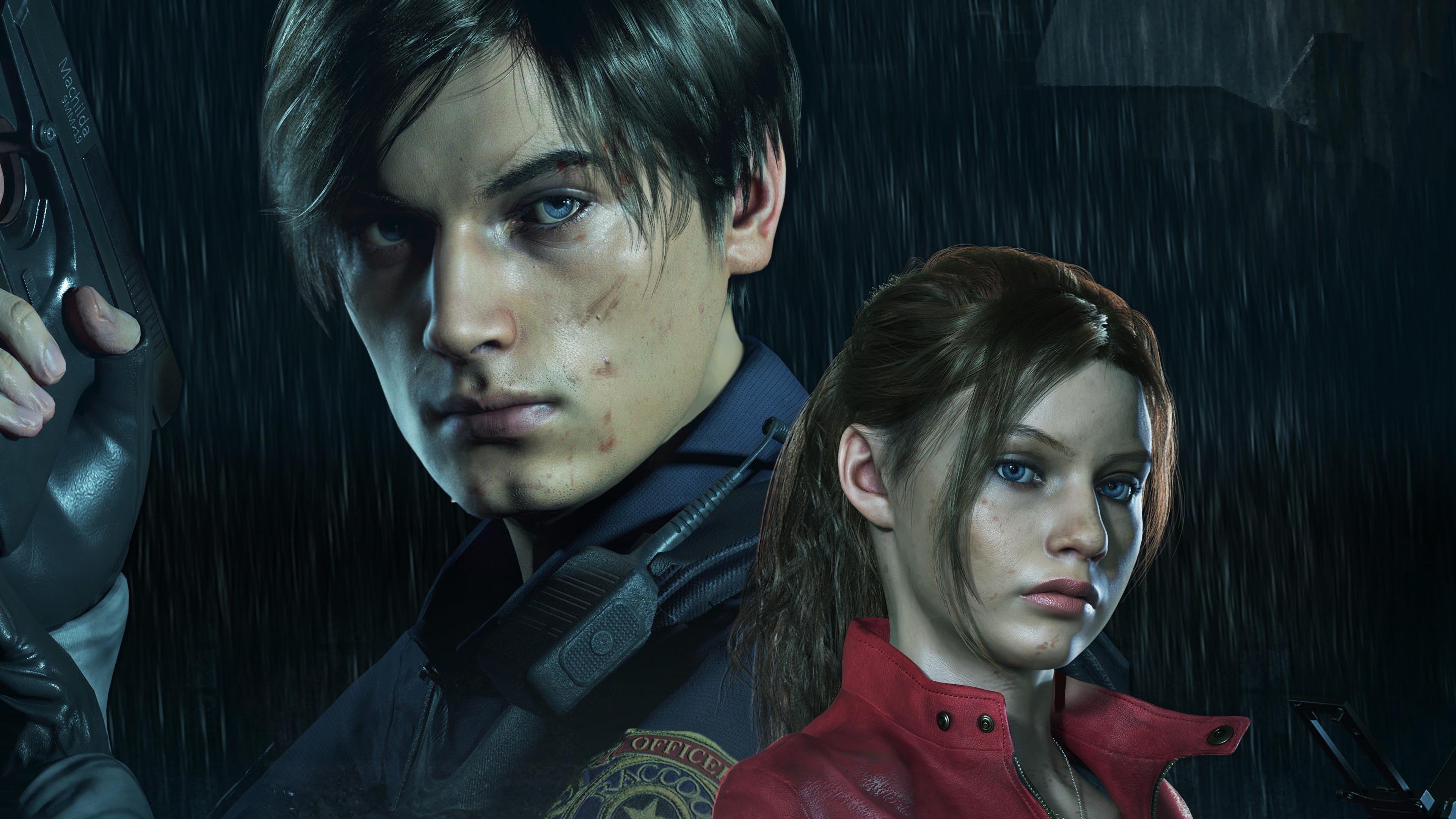 Resident Leon Resident Evil 2 Remake 1974331 Hd Wallpaper