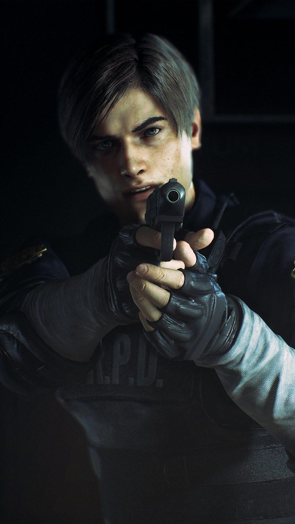 Kennedy Resident Evil 2 4k Ultra Hd Mobile Wallpaper Leon