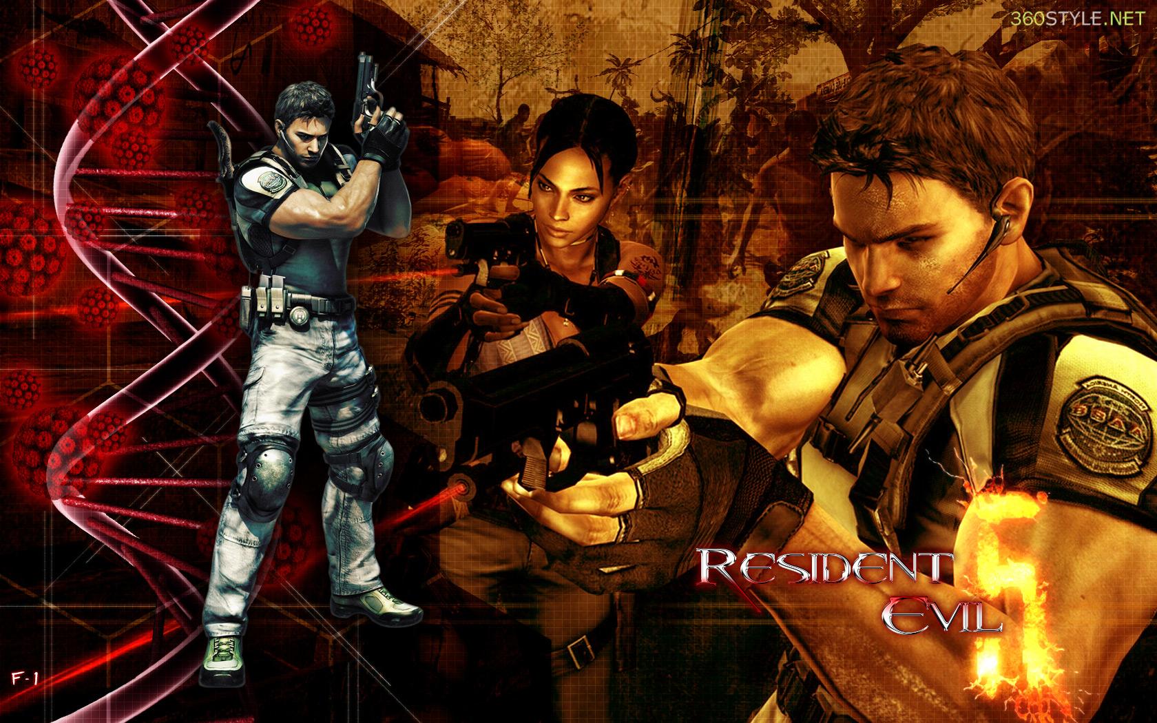 Resident Evil 5 Wallpaper Hd Resident Evil Game Character List