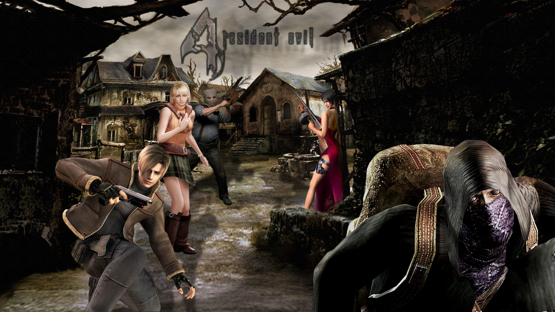 Resident Evil 4 Hd Wallpaper Hd Resident Evil 4 Background