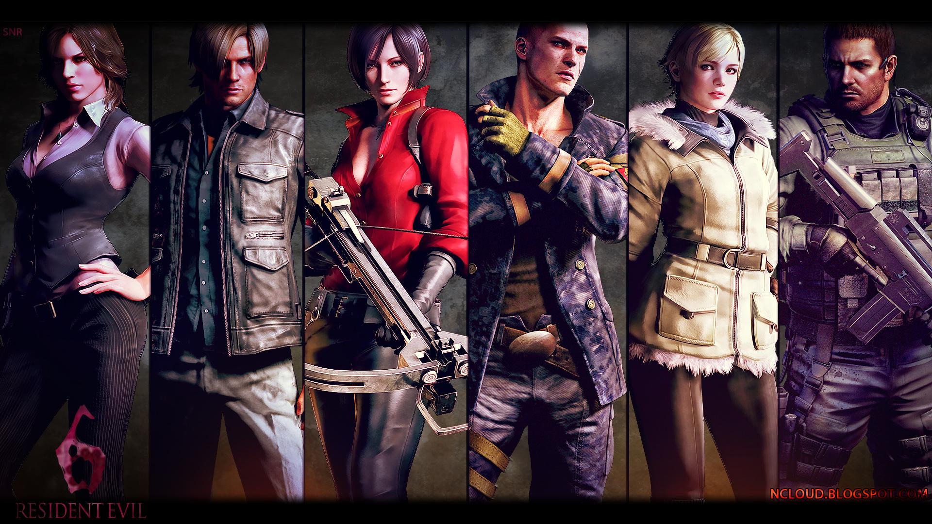 Resident Evil 6 Wallpaper High Quality Resolution - Resident Evil 6 Jogo , HD Wallpaper & Backgrounds