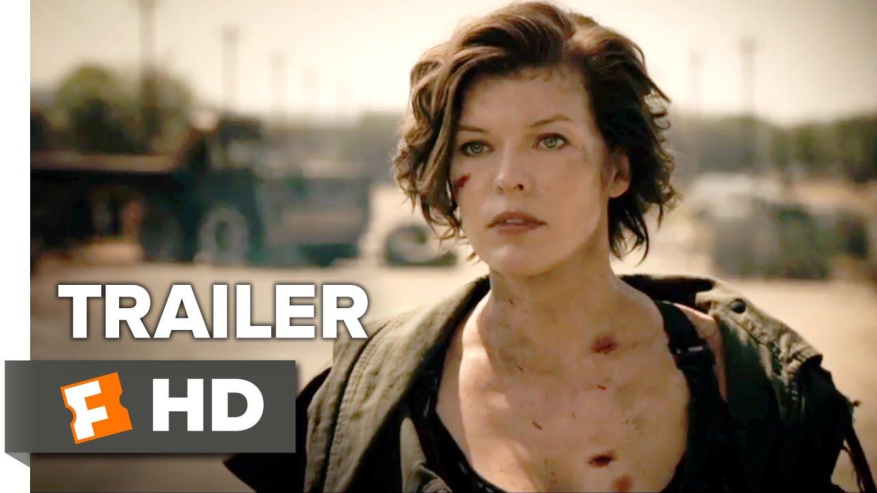 The Final Chapter Official Trailer 1 Resident Evil Film