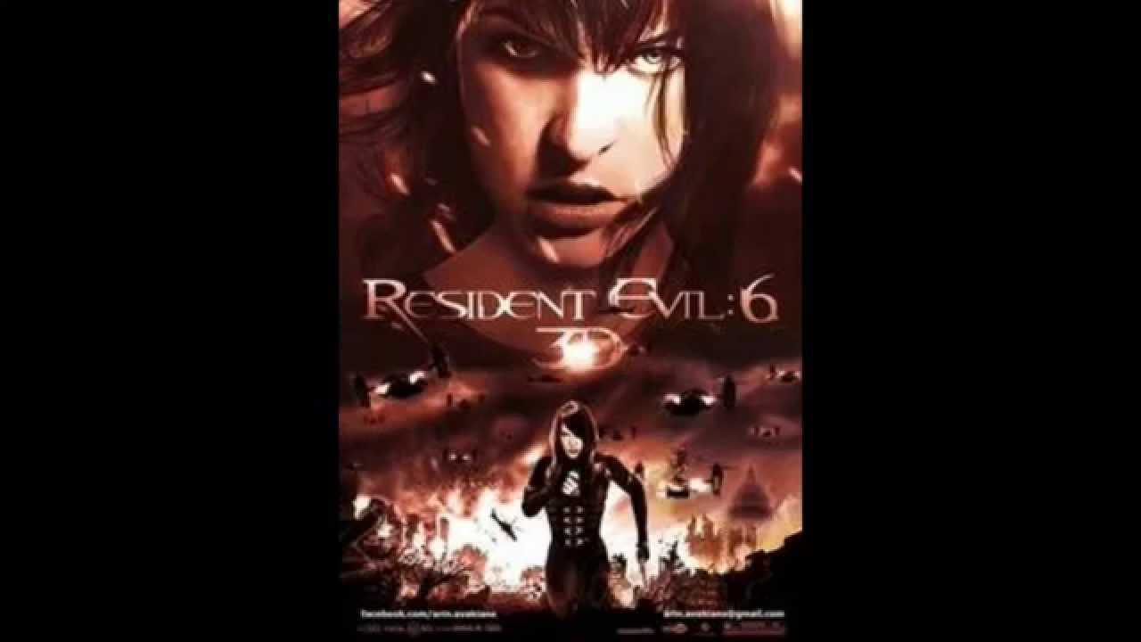'resident Evil'' '6' The Final Chapter Amzing Trailer - Resident Evil 6 The Final Chapter Poster , HD Wallpaper & Backgrounds