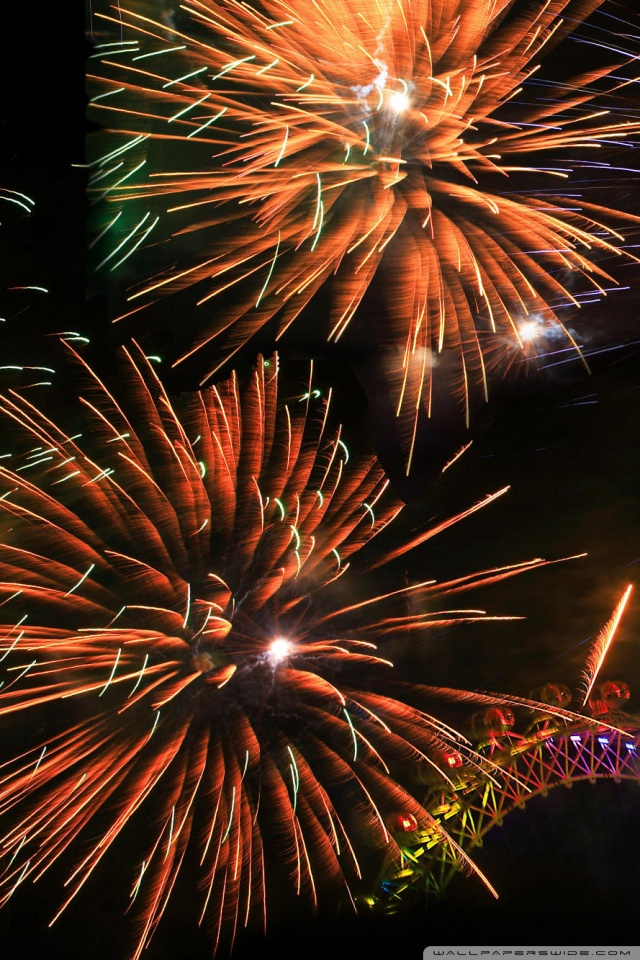 Mobile Hvga - New Years Eve Iphone , HD Wallpaper & Backgrounds