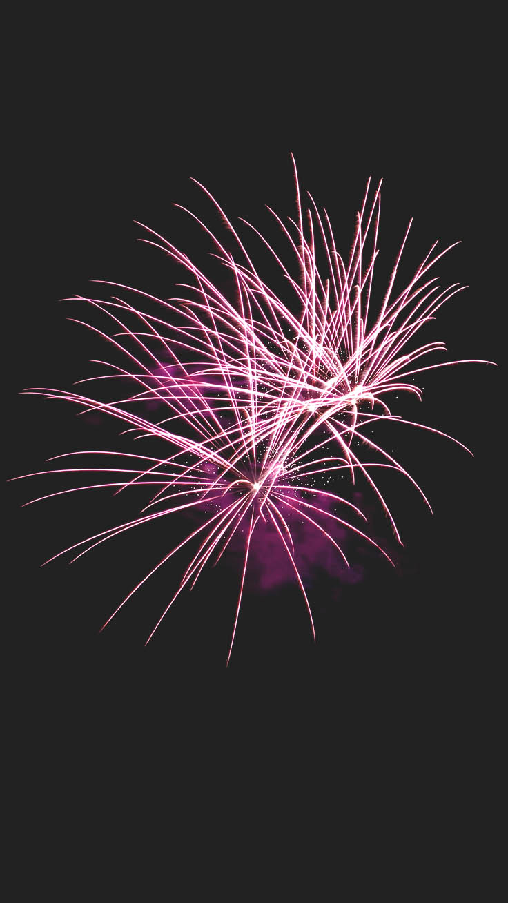 Happy 2019 Iphone Wallpaper By Preppy Wallpapers - Fireworks Phone Background , HD Wallpaper & Backgrounds