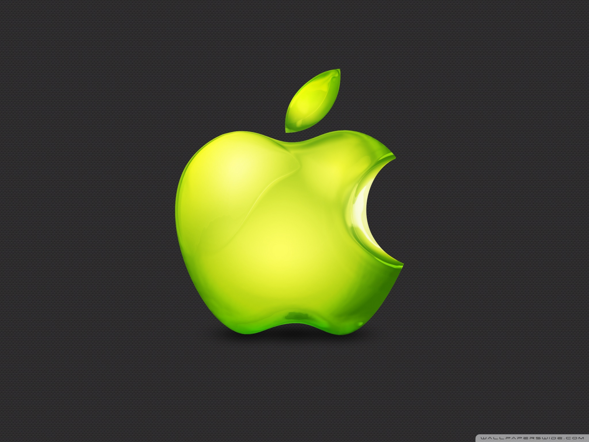 Green Apple Logo Iphone 1979007 Hd Wallpaper
