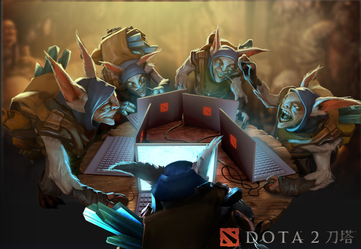 Dota 2 Techies Pc Wallpaper Dota 2 Meepo Wallpaper Hd