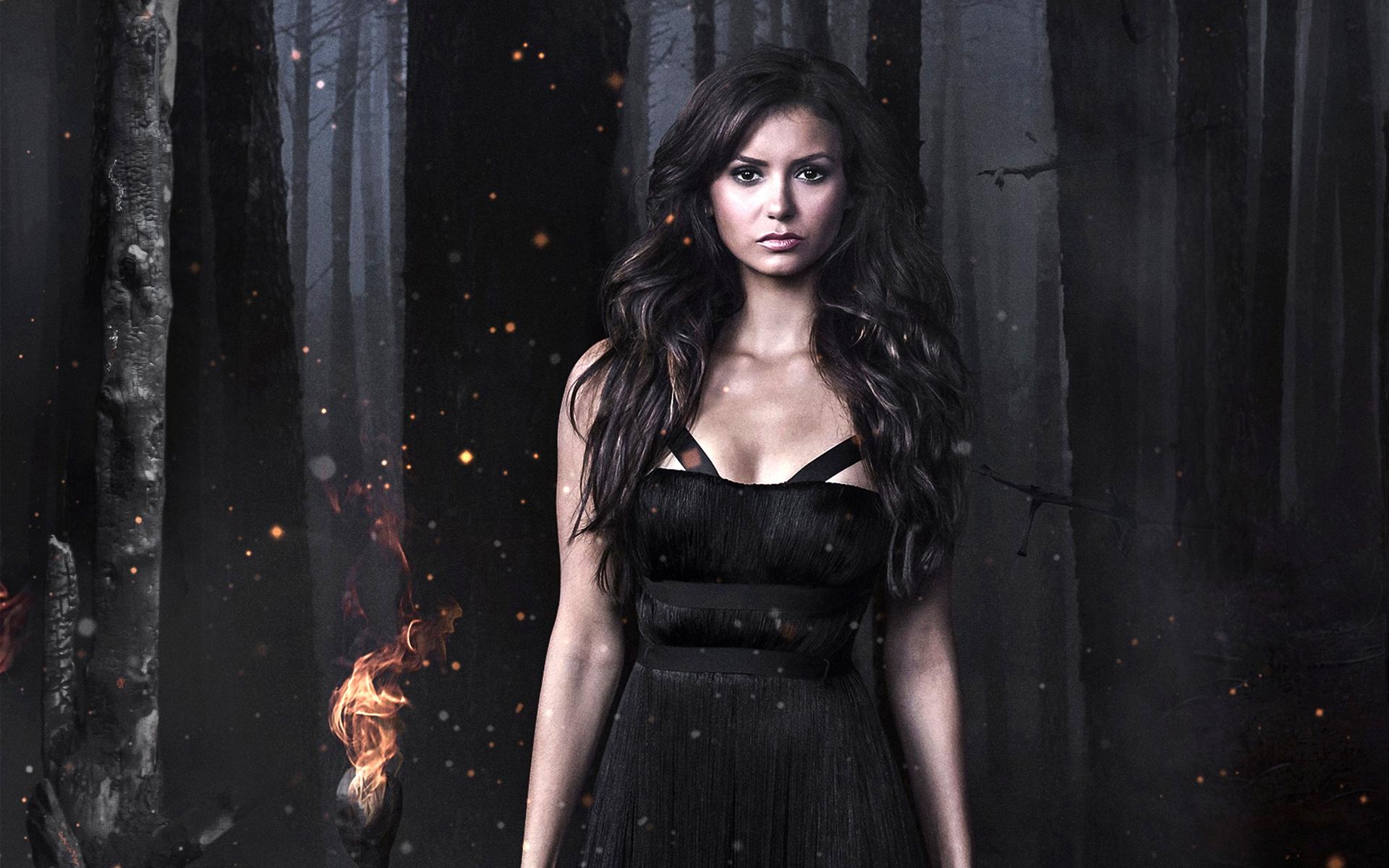 Nina Dobrev In The Vampire Diaries Wallpaper - Nina Dobrev Photoshoot The Vampire Diaries , HD Wallpaper & Backgrounds