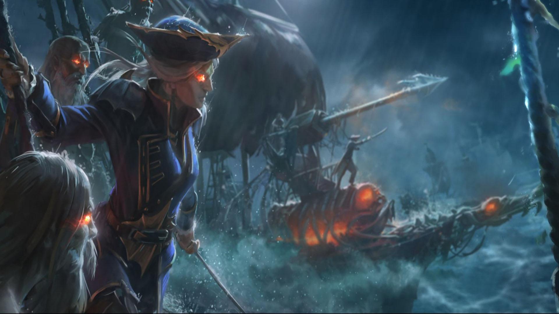 Warhammer 2 Vampire Coast Guide Infamy Shipbuilding Total War