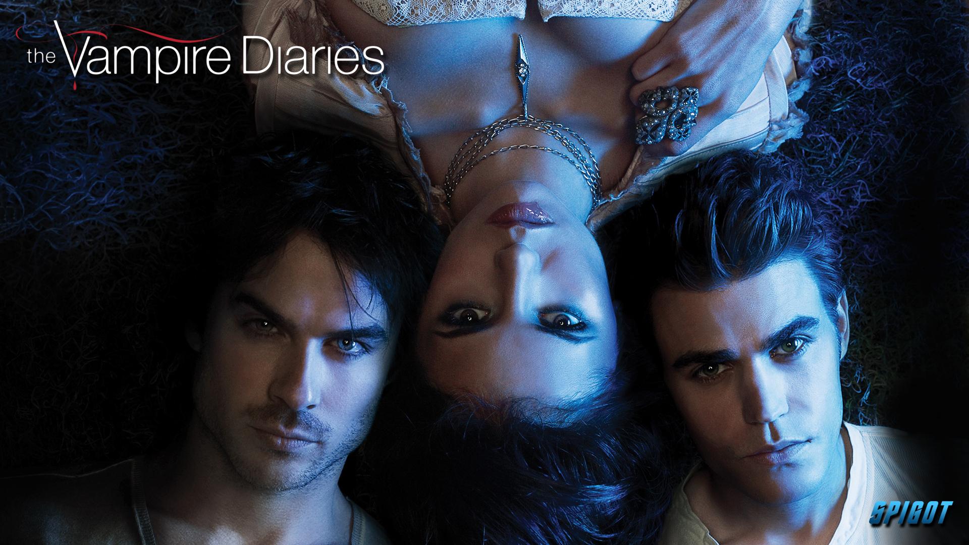 The Last Of The Vampire Diaries Wallpapers George Spigot - Vampires Diaries Damon Elena Stefan , HD Wallpaper & Backgrounds