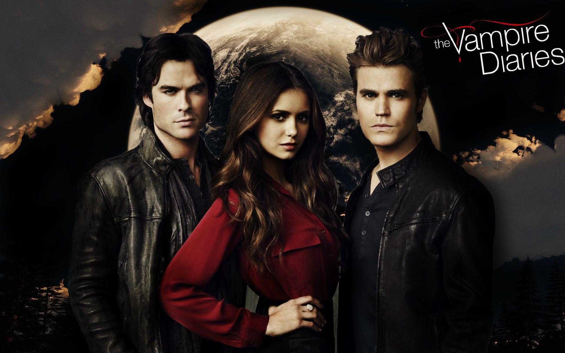 The Vampire Diaries - Vampire Diaries , HD Wallpaper & Backgrounds